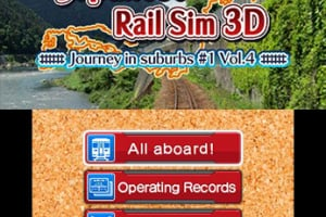 Japanese Rail Sim 3D Journey in suburbs #1 Vol.4 Screenshot