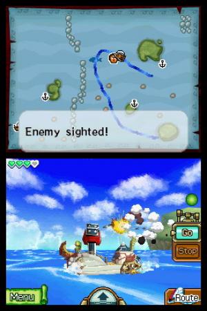 The Legend of Zelda: Phantom Hourglass Review - Screenshot 1 of 4