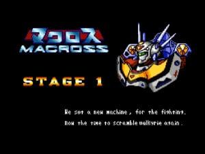 Choujikuu Yousai Macross: Scrambled Valkyrie Review - Screenshot 2 of 4