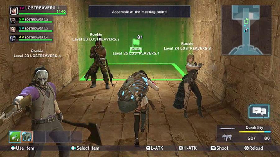 Lost Reavers Review - Screenshot 2 of 6