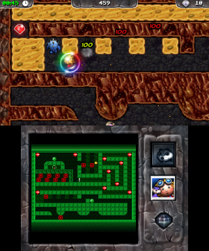 Digger Dan DX Review - Screenshot 1 of 3