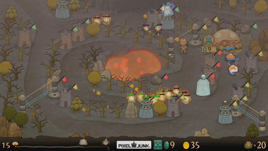 PixelJunk Monsters Review - Screenshot 1 of 3