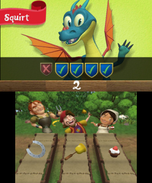 Mike the Knight and The Great Gallop Review - Screenshot 2 of 4