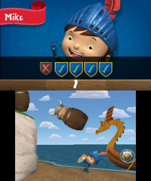 Mike the Knight and The Great Gallop Review - Screenshot 1 of 4