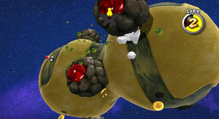 Super Mario Galaxy Review - Screenshot 1 of 5