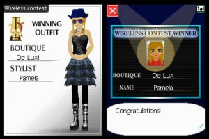 Nintendo presents: Style Boutique Screenshot