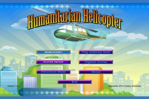 Humanitarian Helicopter Screenshot