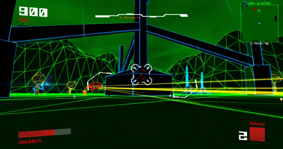 Vektor Wars Review - Screenshot 1 of 3