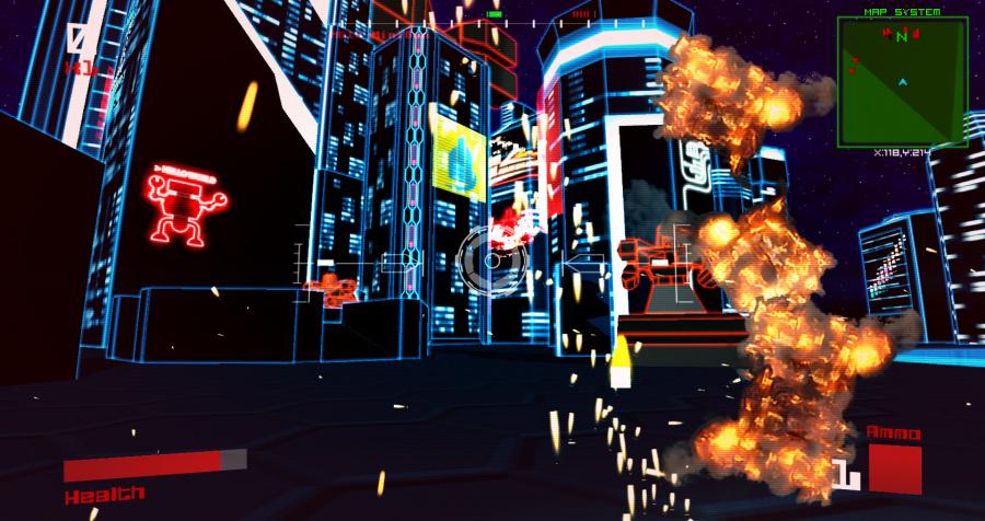 Vektor Wars Review - Screenshot 1 of 3