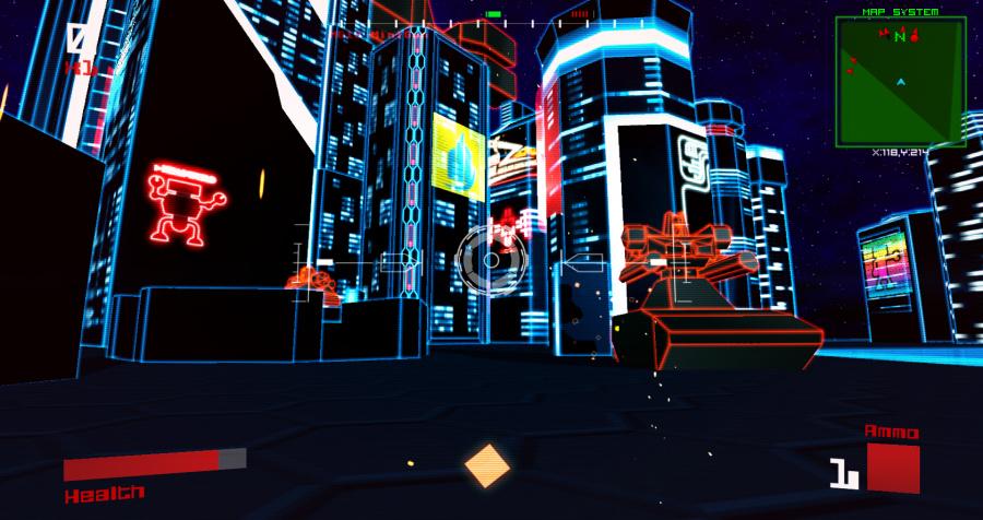 Vektor Wars Review - Screenshot 3 of 3