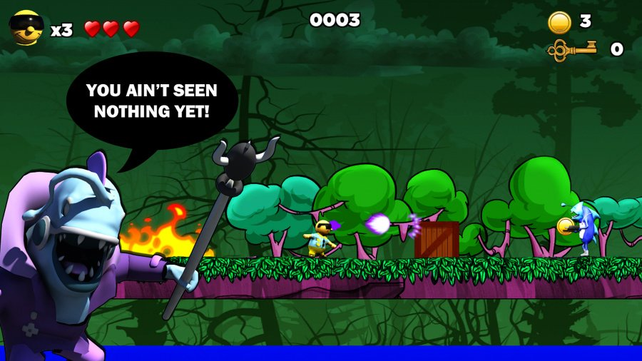 Surfin' Sam - Attack of the Aqualites Review - Screenshot 1 of 5