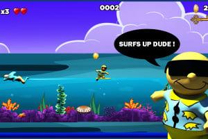 Surfin' Sam - Attack of the Aqualites Screenshot