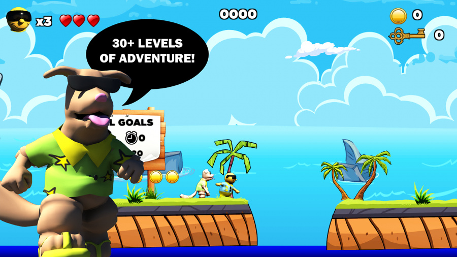 Surfin' Sam - Attack of the Aqualites Review - Screenshot 5 of 6