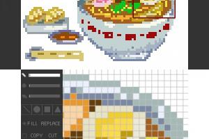 Pixel Paint Screenshot