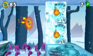 Sonic Boom: Fire & Ice Review - Screenshot 1 of 6