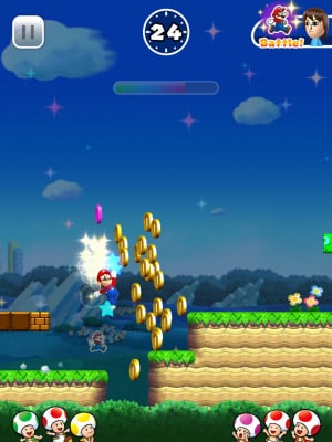Mobile Super Mario Run I Pad Pro Screenshot Only 05