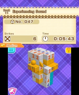 Picross 3D Round 2 Review - Screenshot 1 of 5