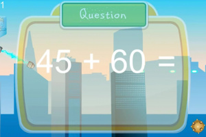 Super Hero Math Screenshot