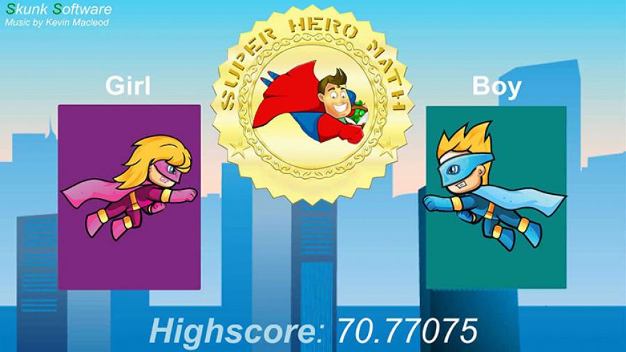 Super Hero Math Review - Screenshot 3 of 4