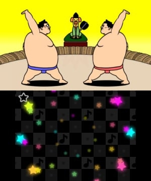 144828 3 DS Rhythm Img Gameplay Sumo Brothers