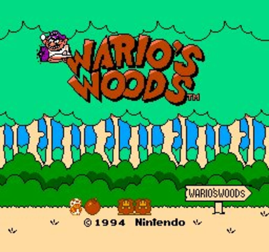 Wario's Woods Screenshot