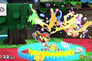 Paper Mario: Color Splash Screenshot