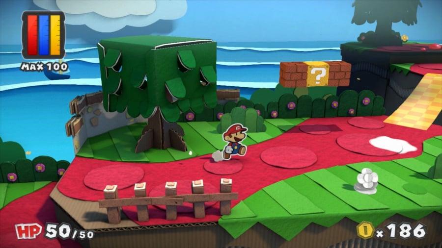 Paper Mario: Color Splash Review - Screenshot 3 of 7