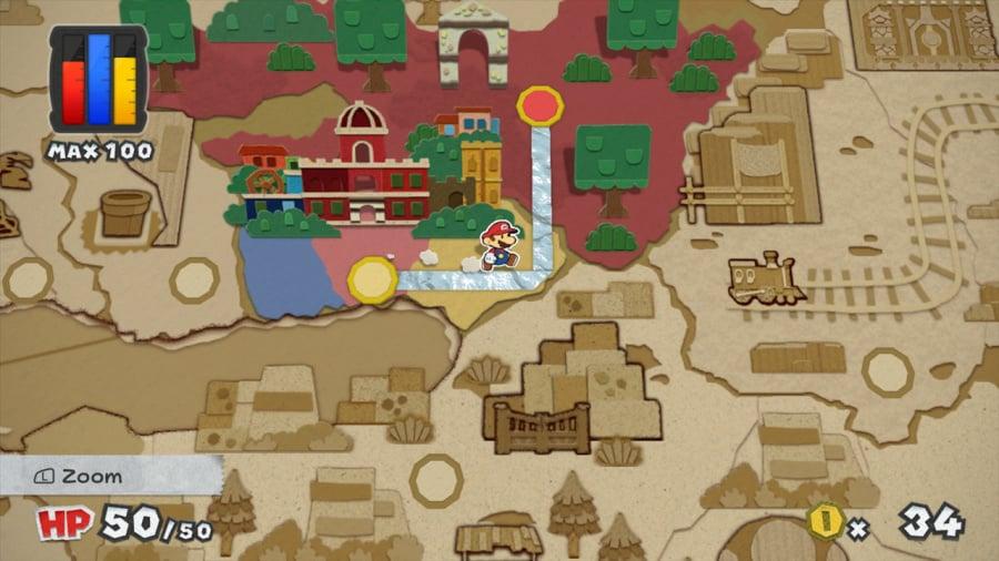 Paper Mario: Color Splash Review - Screenshot 2 of 7