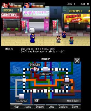 River City: Tokyo Rumble Review - Screenshot 3 of 4