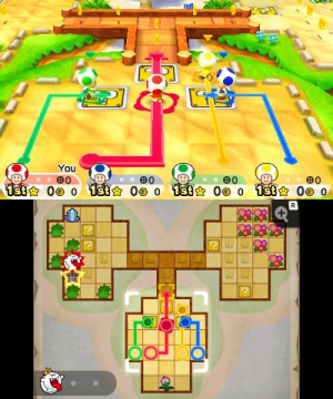 Mario Party: Star Rush Review - Screenshot 1 of 8