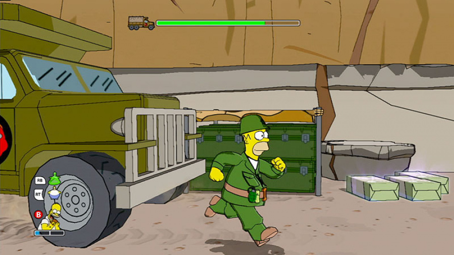 The Simpsons Game Review - Screenshot 3 of 4