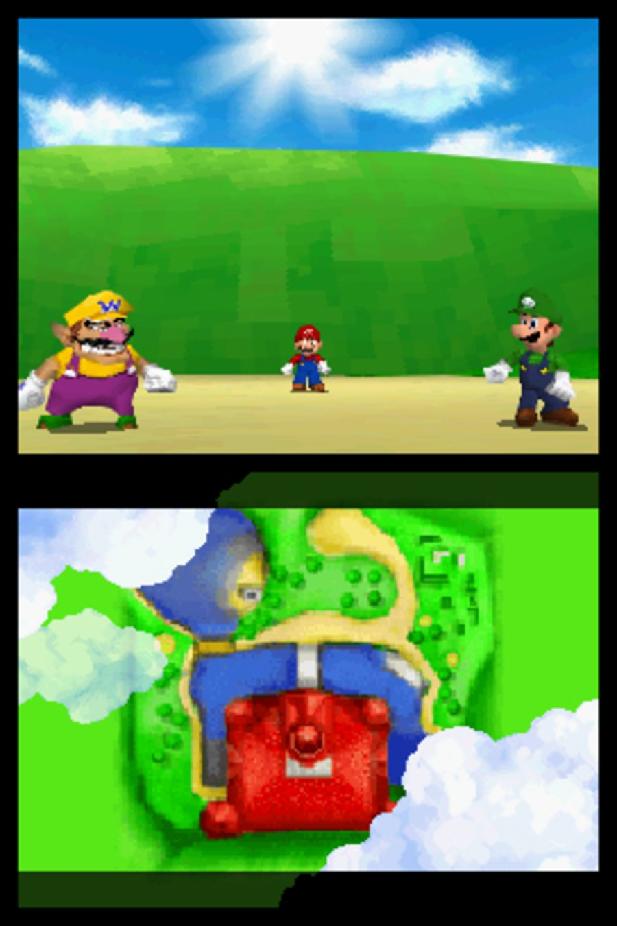 Super Mario 64 DS Screenshot