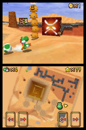 Super Mario 64 DS Review - Screenshot 1 of 3