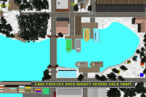 Retro Road Rumble Screenshot