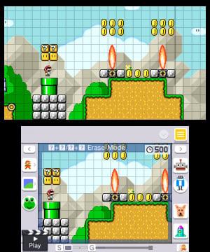 Super Mario Maker for Nintendo 3DS Review - Screenshot 1 of 7