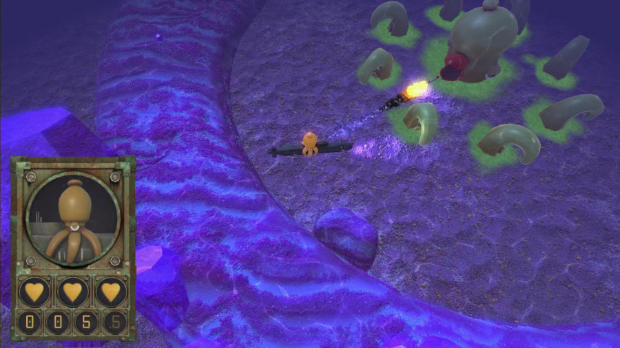 Octocopter: Super Sub Squid Escape Review - Screenshot 1 of 4