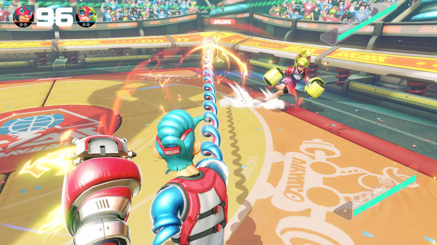 ARMS Review - Screenshot 2 of 8