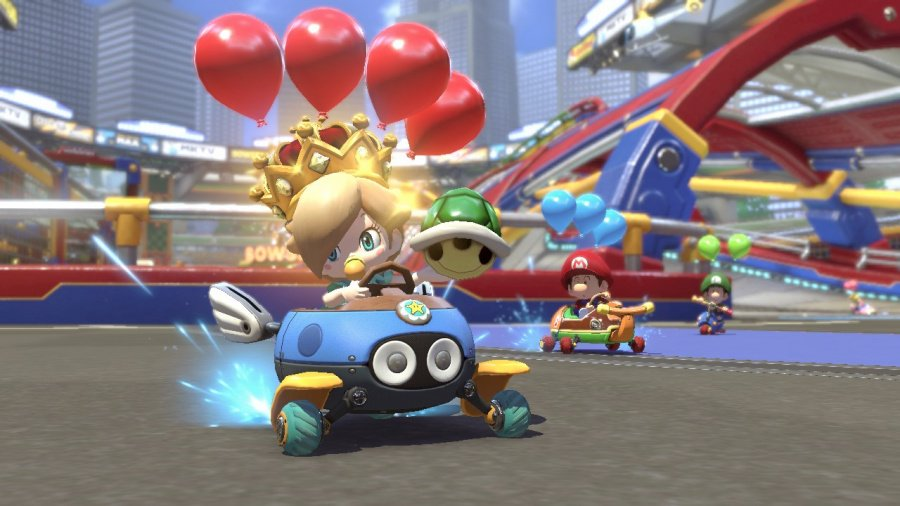Mario Kart 8 Deluxe Review - Screenshot 2 of 9