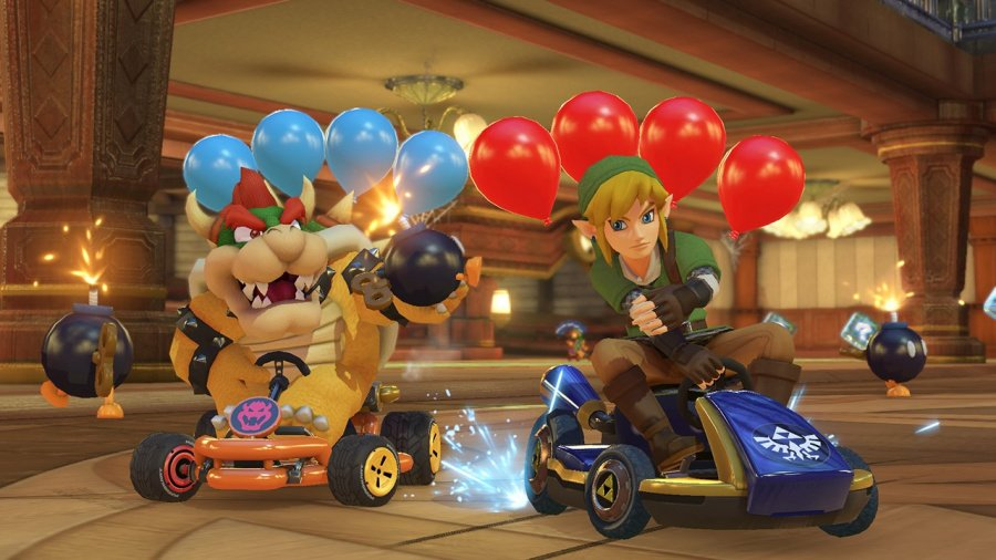 Mario Kart 8 Deluxe Review - Screenshot 1 of 9