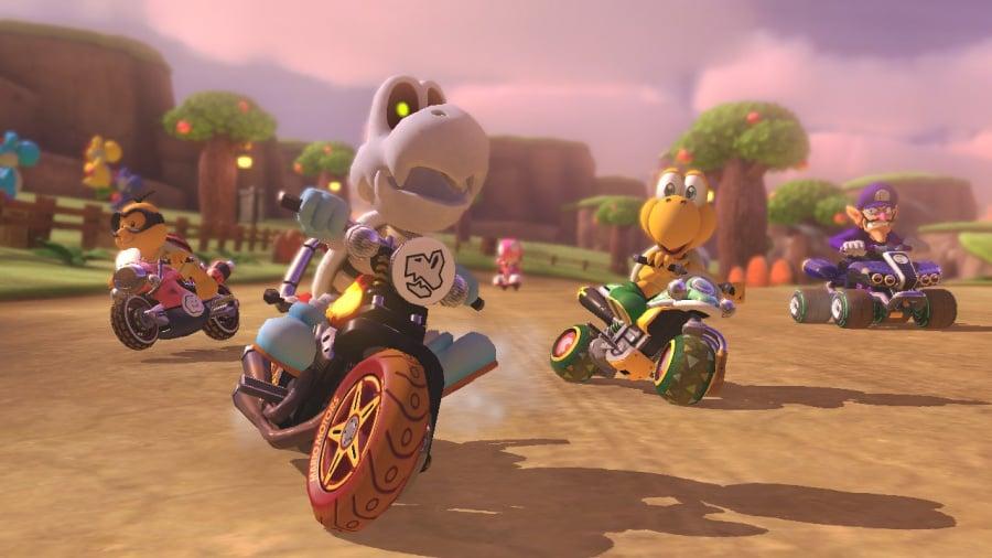 Mario Kart 8 Deluxe Review - Screenshot 1 of 9