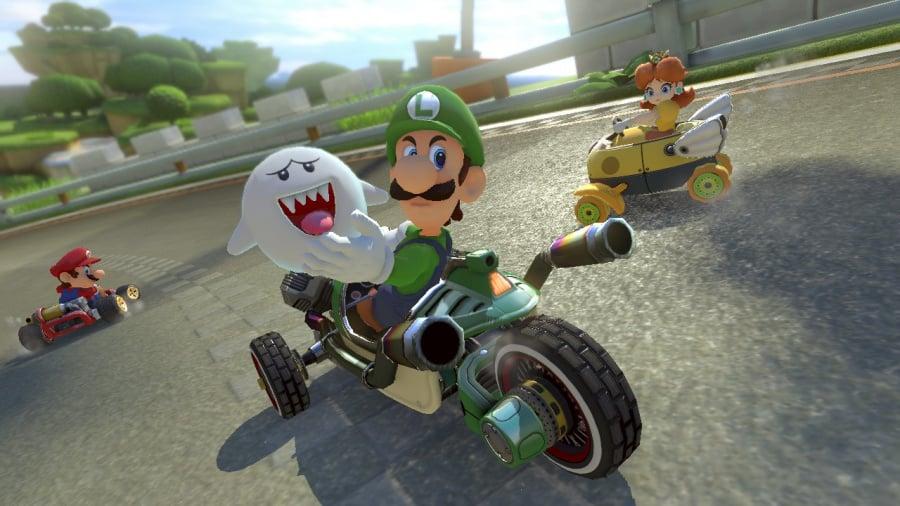Mario Kart 8 Deluxe Review - Screenshot 6 of 9