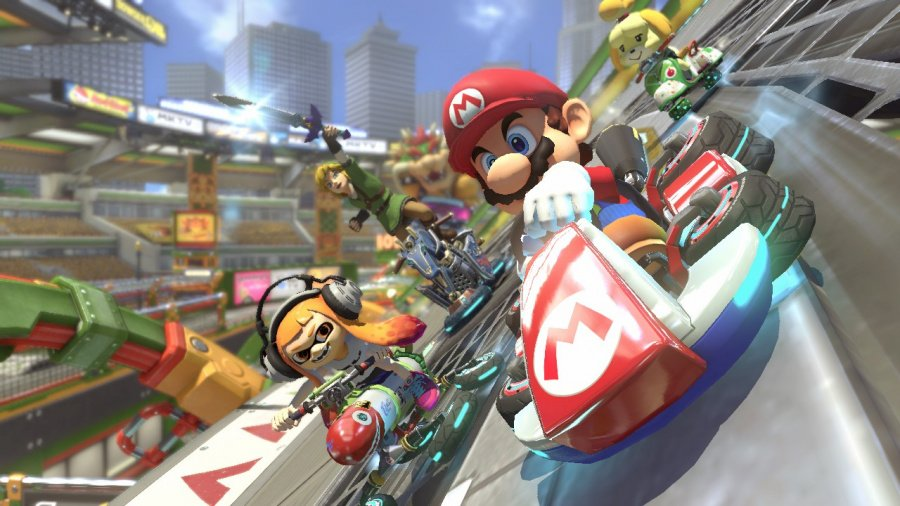 Mario Kart 8 Deluxe Review - Screenshot 3 of 9