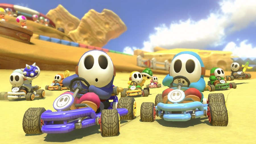 Mario Kart 8 Deluxe Review - Screenshot 7 of 9