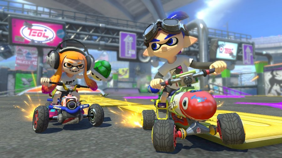 Mario Kart 8 Deluxe Review - Screenshot 5 of 9