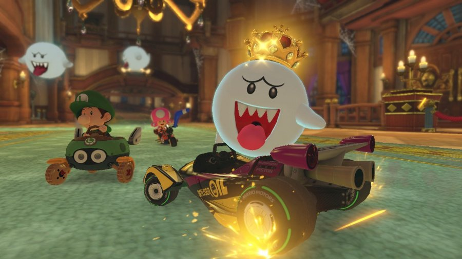 Mario Kart 8 Deluxe Review - Screenshot 4 of 9