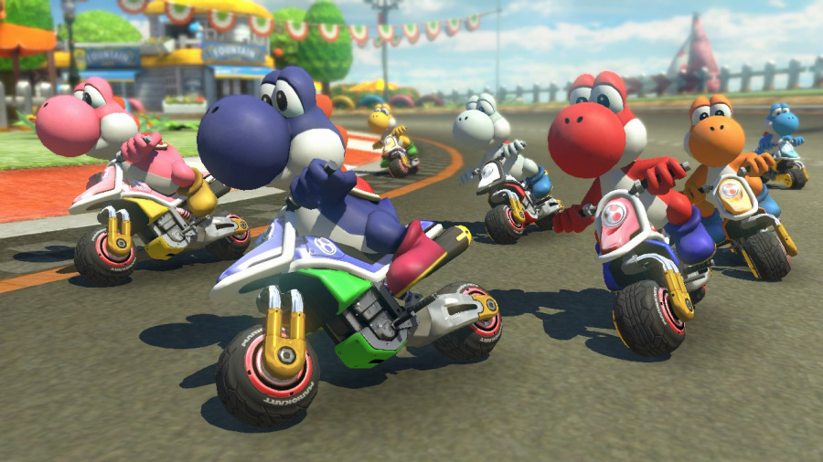 Mario Kart 8 Deluxe Review - Screenshot 3 of 9