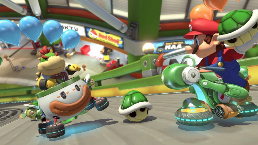 Mario Kart 8 Deluxe Review - Screenshot 7 of 9