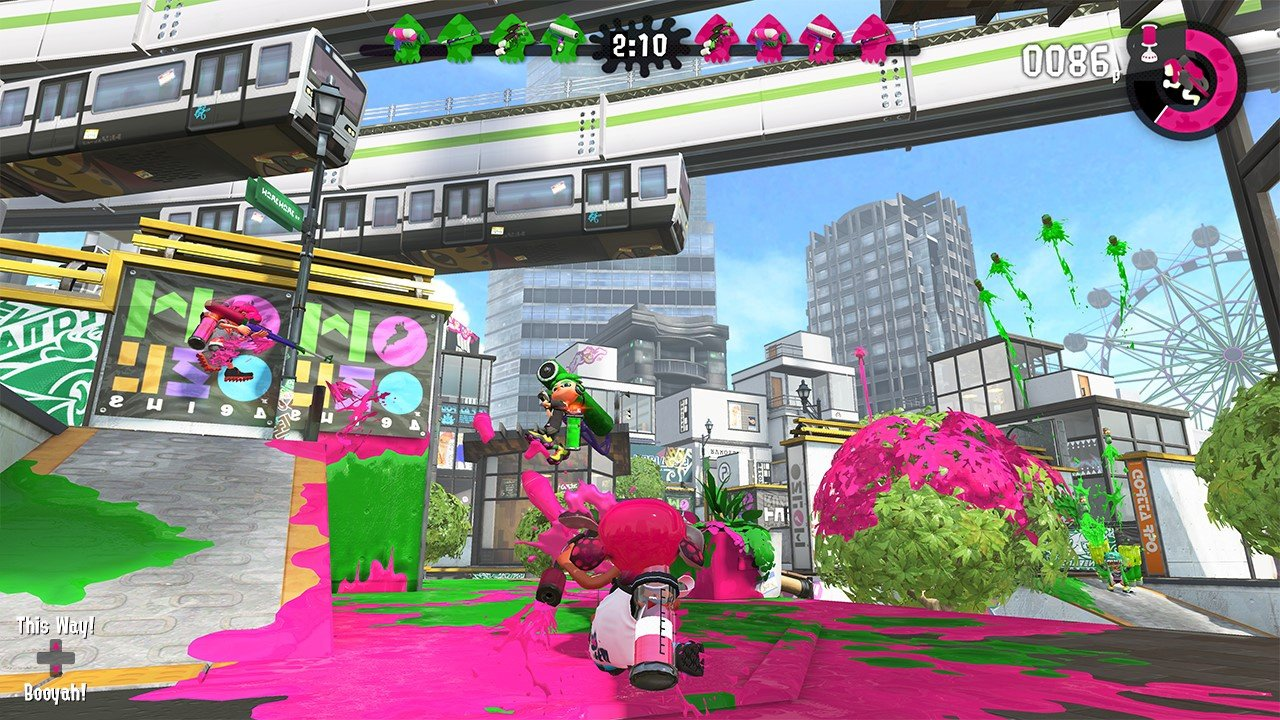 Image result for splatoon 2 switch screenshot