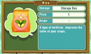 STORY of SEASONS Trio of Towns - Crop Quality and Fertilizer
