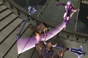 SoulCalibur Legends Screenshot